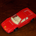1:43 Burago Ferrari Testarossa 1980's  Diecast model (red) Road Car @SOLD@